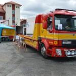 Bärgningsbil på mässan Trucks in Dalarna