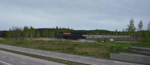 Bild på Tallenkilen som ligger vid Tallen strax söder om Falun. Ny byggnad för Assistancekåren Falun/Borlänge.
