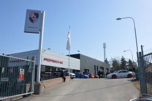 Meet and greet K3 Porsche Service Center Haninge 2018