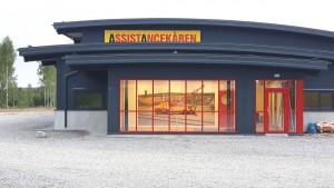 Bild på Assistancekåren Falun och Borlänges nya stationshus