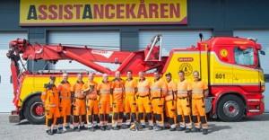Bild på all personal hos Lundbärgarna Falun och Borlänge