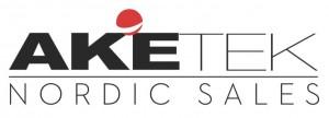 Logotypen för Aketek Nordic Sales AB som säljer svetshjälmar.