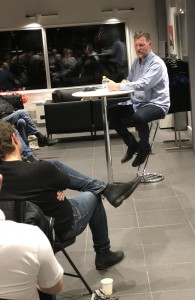 Janne Blomqvist hos Porsche Service Center Haninge.
