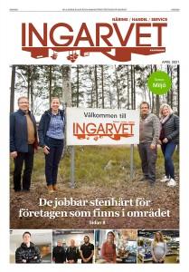 Tidningen Ingarvet april 2021