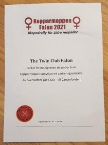 Kopparmoppen Ingarvet Falun 2021